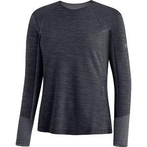 GORE Wear Vivid Hardloopshirt Lange Mouwen Zwart Dames