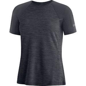 GORE Wear Vivid Hardloopshirt Korte Mouwen Zwart Dames