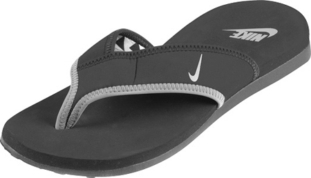 buy online f174f 0563b Nike Celso Thong Plus BlackCool Grey Slippers Heren