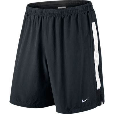 the latest 30bbf fc0dc Nike 7 inch Stamina 2-in-1 Short ZwartWit Heren