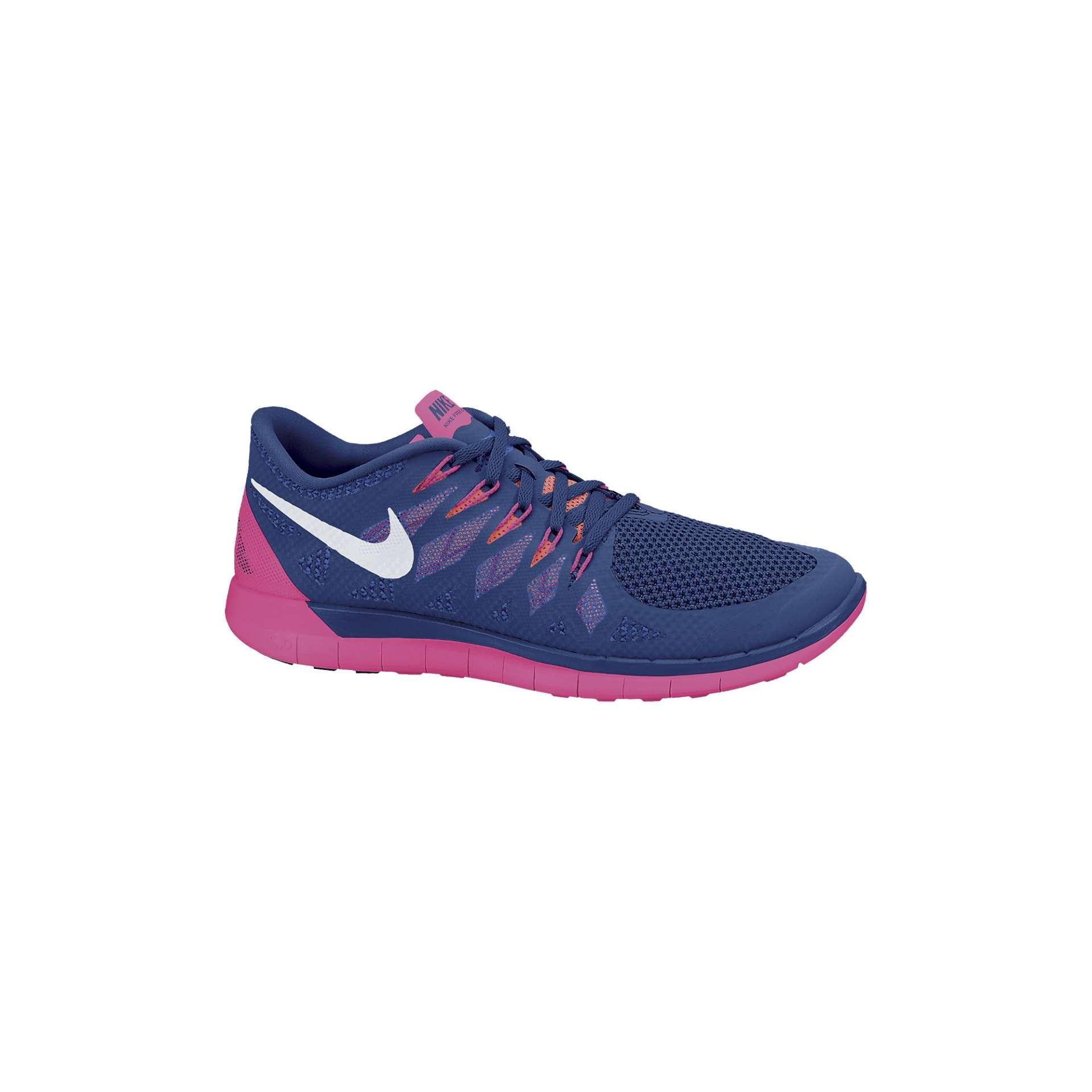 factory authentic c7580 b7c16 Nike Free 5.0 Hardloopschoenen BlauwRoze Dames