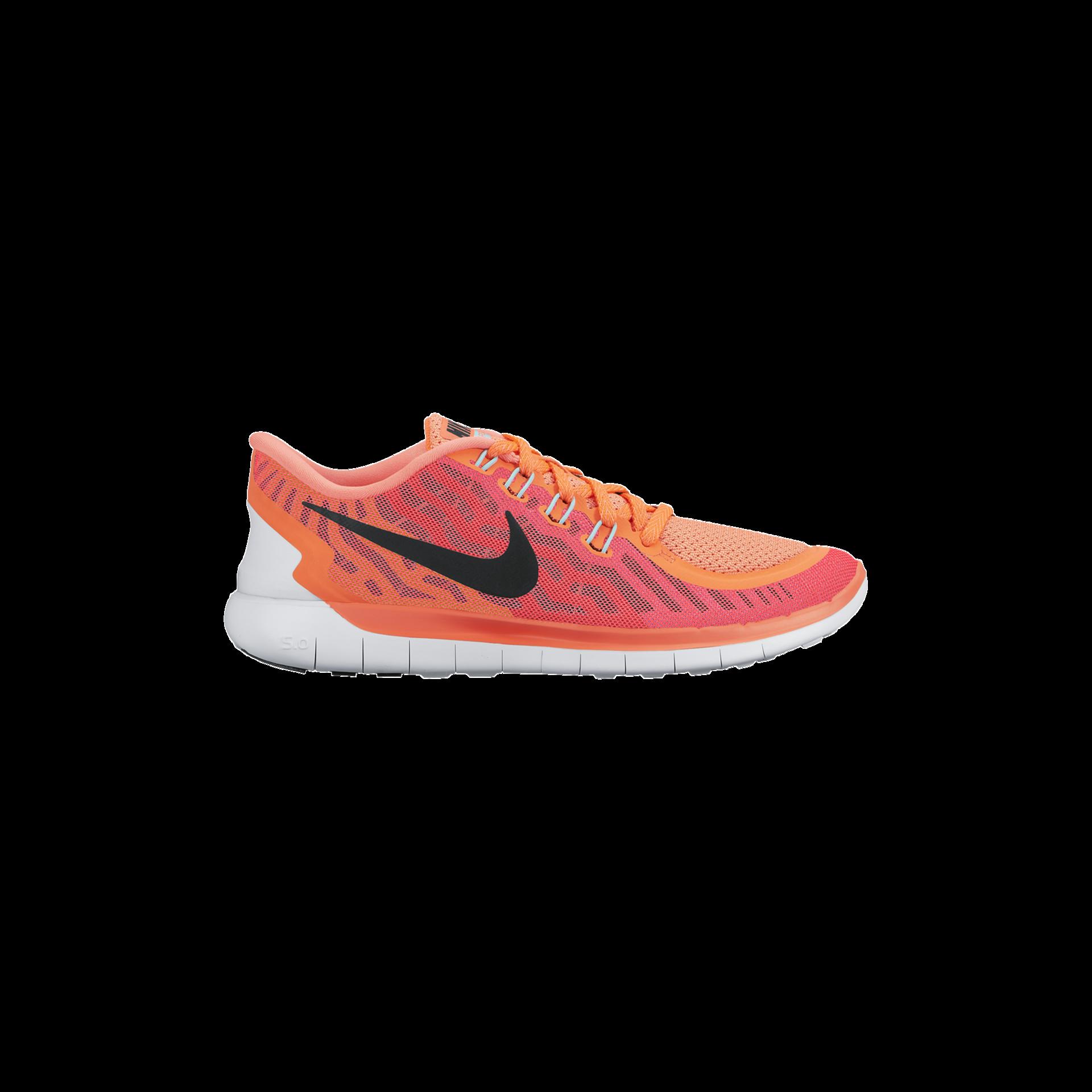 reputable site 13895 1132e Nike Free 5.0 Hardloopschoenen Lava RoodZwart Dames