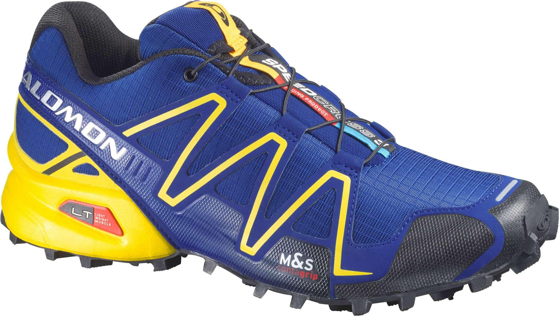 a07c3c0c377 Salomon Speedcross 3 Trail Hardloopschoenen Blauw/Geel/Zwart Heren ...