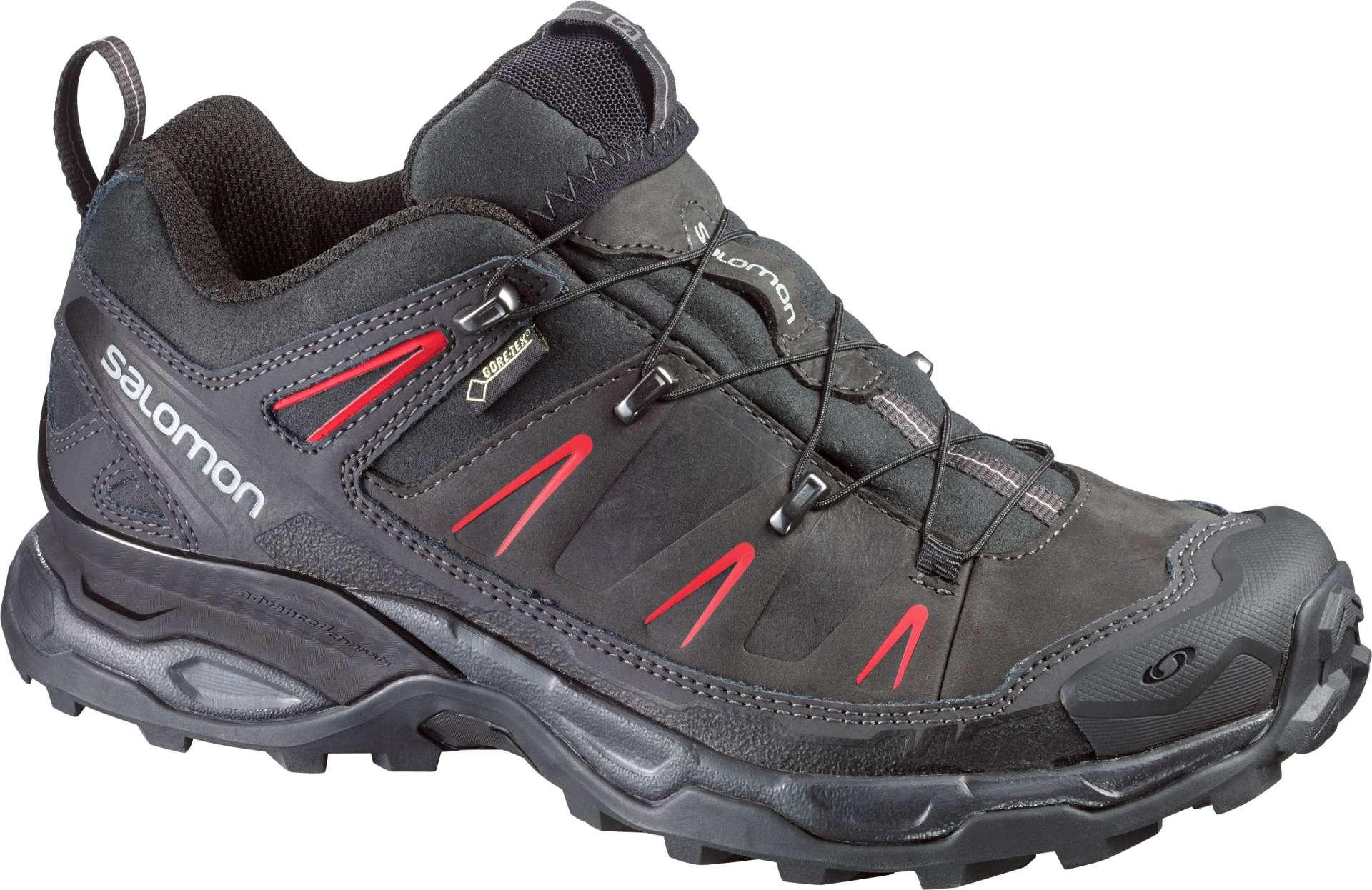 Lichte Wandelschoenen Dames : Salomon x ultra ltr gtx wandelschoenen zwart grijs roze dames koop