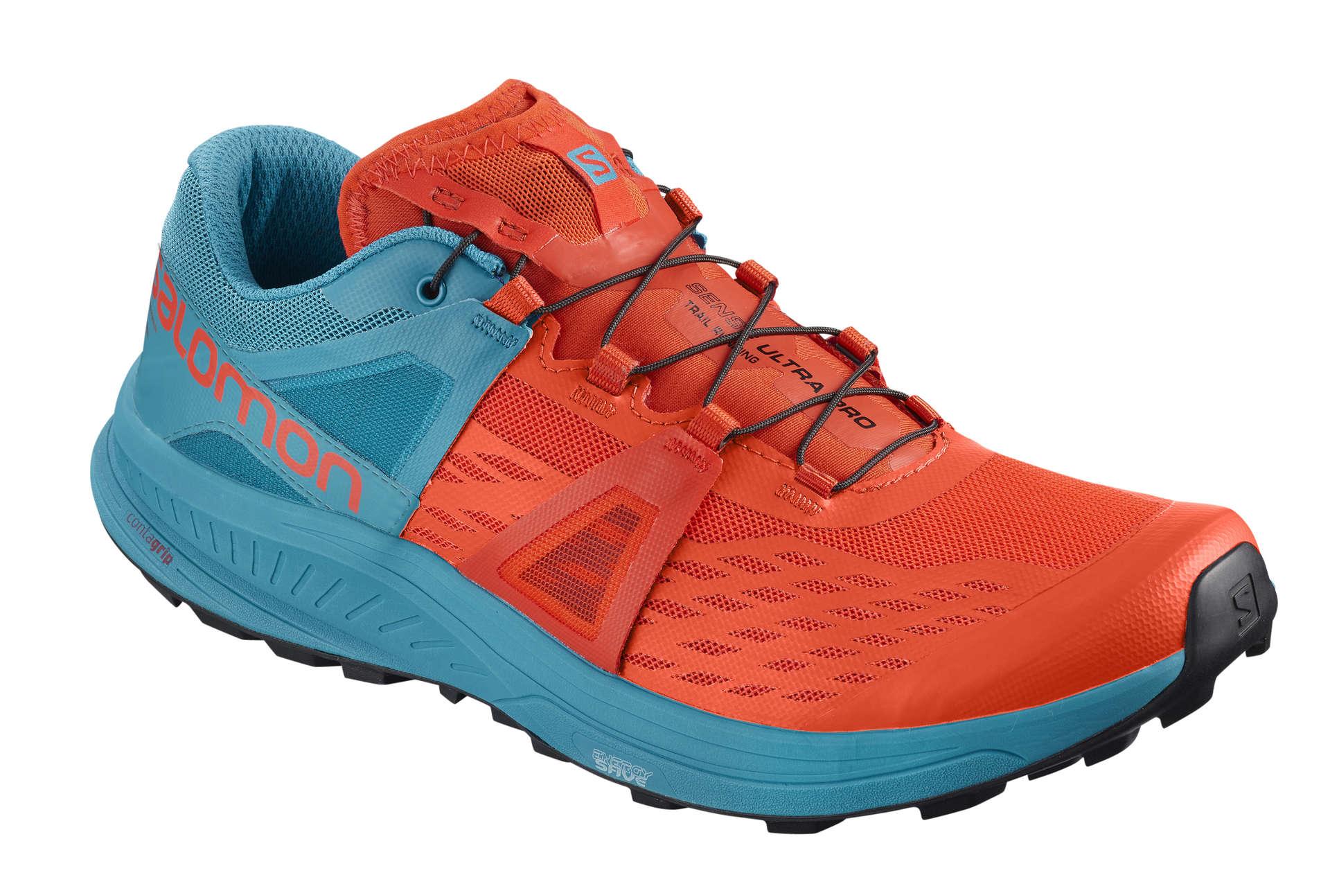 af7170529b7 Salomon Ultra Pro Trail Hardloopschoenen Oranje/Blauw Heren koop je ...
