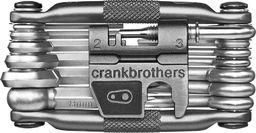 Crankbrothers M Minitool 19delig Donkergrijs