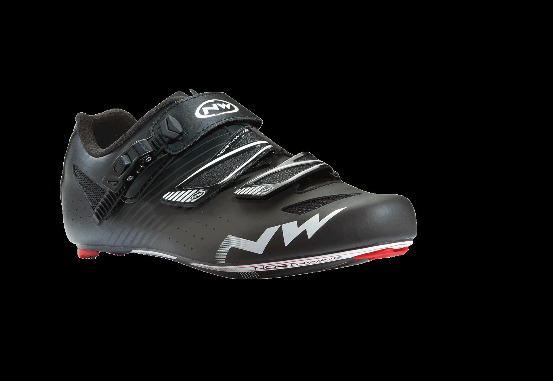 Chaussures Noires Northwave Pour L'été Avec Des Hommes De Fermeture Velcro lw01cfrOV
