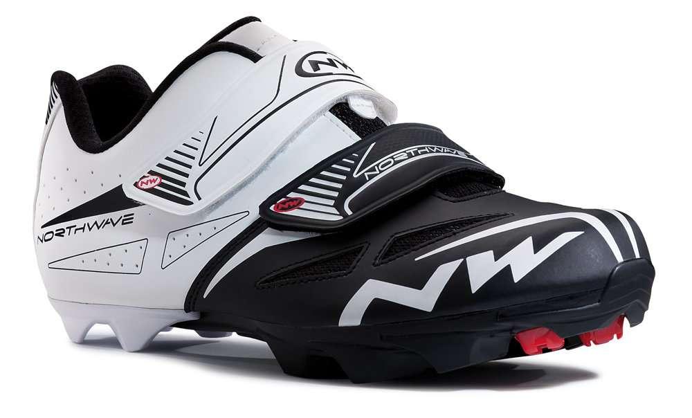 Spike Evo MTB Mountainbikeschoen ZwartWit Heren