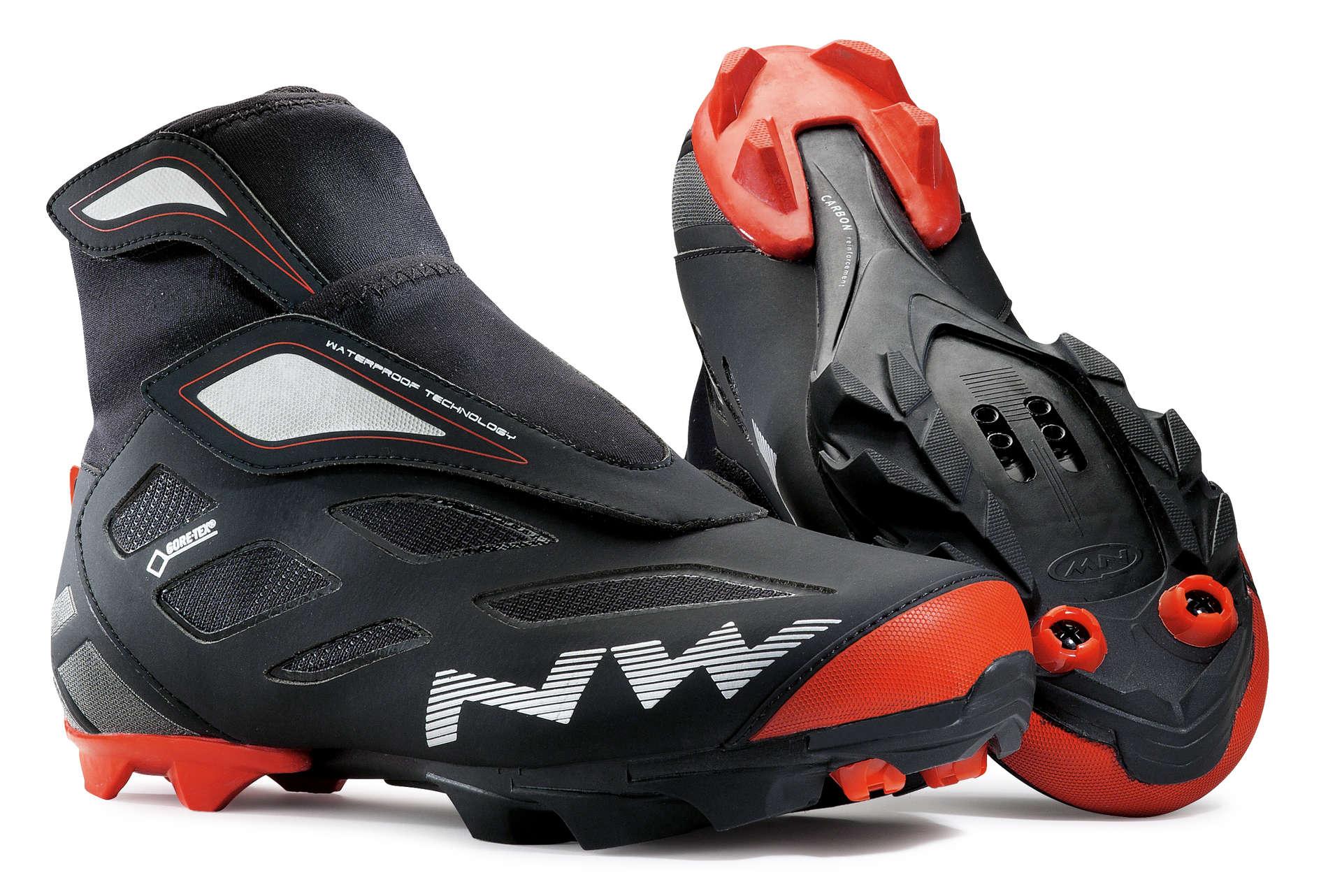Northwave Celsius 2 GTX Mountainbikeschoenen Zwart/Rood Heren