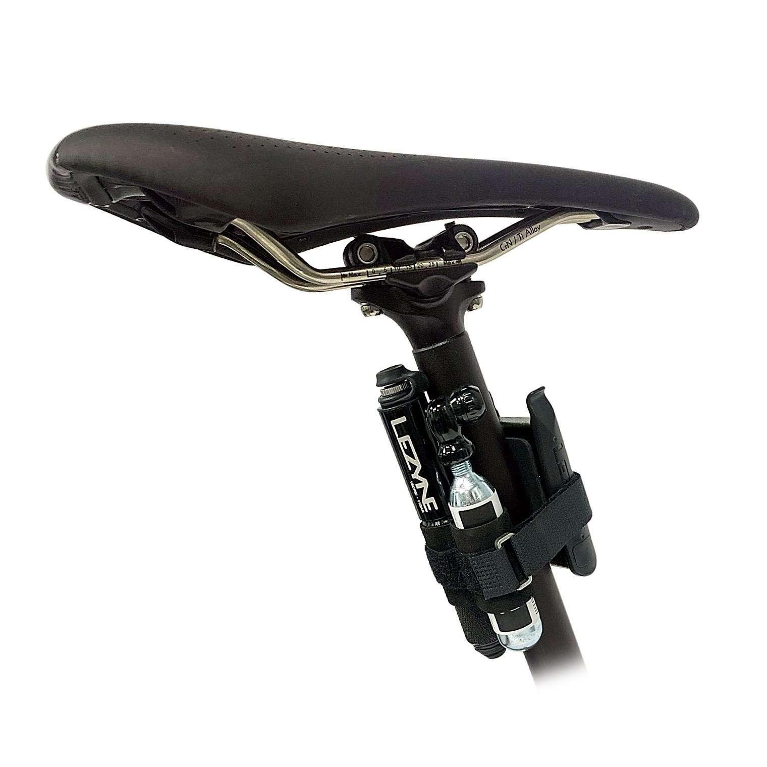Lezyne Pocket Drive Loaded Mini Fietspomp Zwart