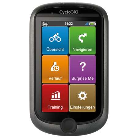 Mio Cyclo 310 GPS Duitsland, Oostenrijk en Zwitserland