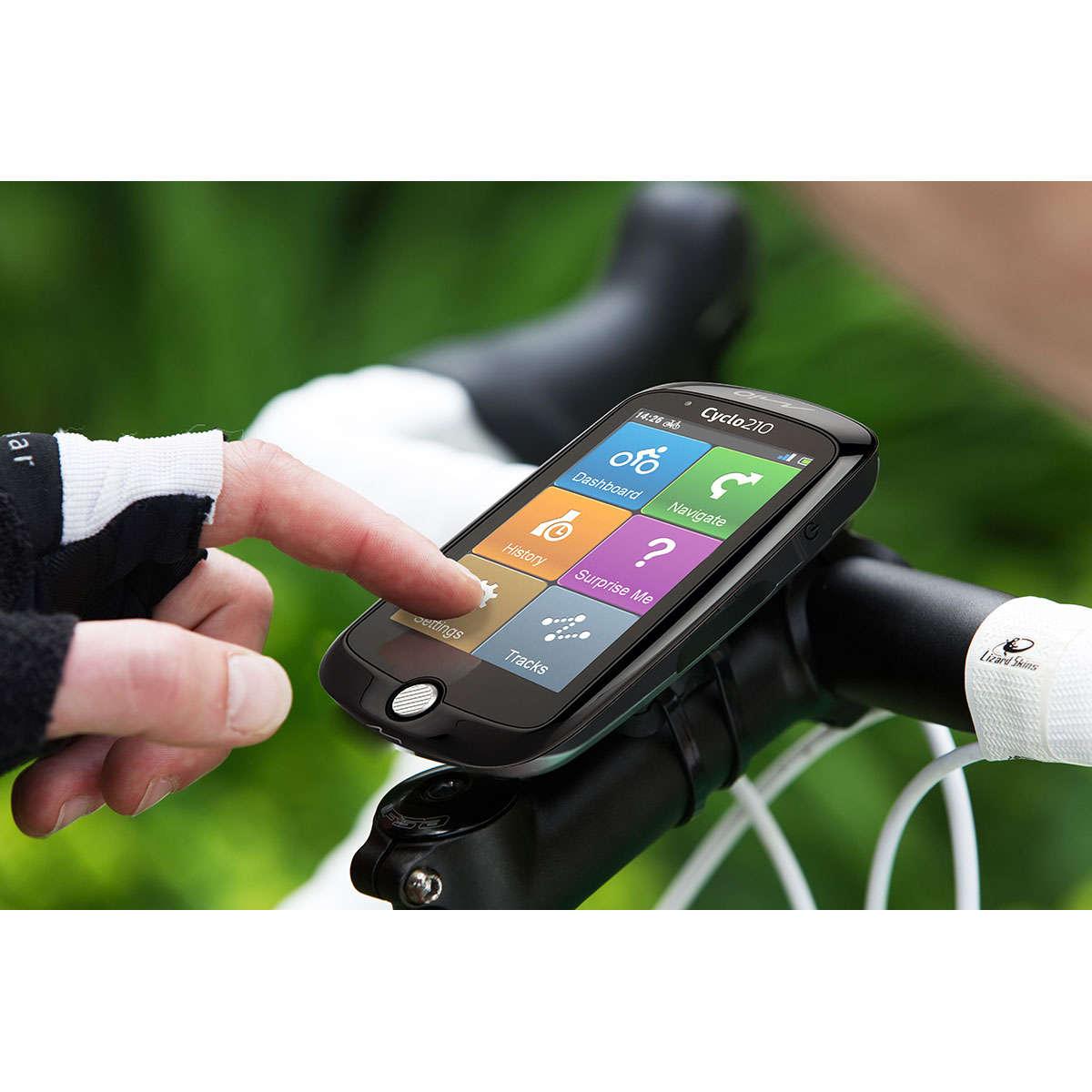 Mio Cyclo 210 GPS Fietscomputer Europa
