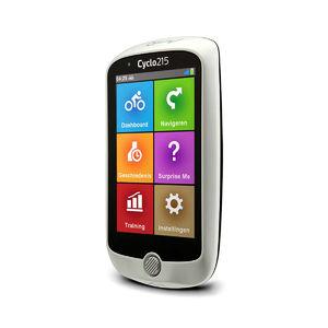 Mio Cyclo 215HC GPS Fietscomputer Europa inclusief Sensoren