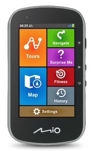 Mio Cyclo Discover Plus GPS Fietscomputer