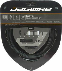 Jagwire Elite Sealed Derailleurkabels Stealth Zwart