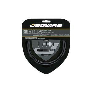 Jagwire 1X Elite Sealed Derailleurkabels Stealth Zwart