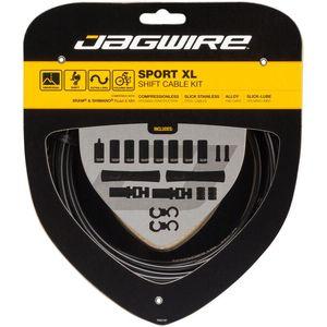 Jagwire Sport Shift XL Derailleurkabel Kit Zwart