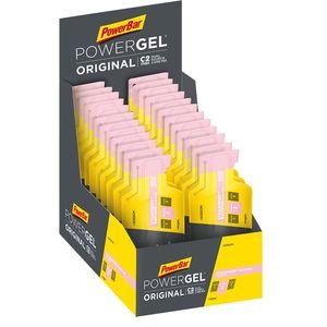 PowerBar Powergel Sodium Aardbei/Banaan Gel 24 stuks