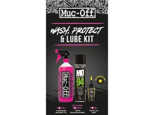 Muc-Off Wash Protect & Dry Lube Kit