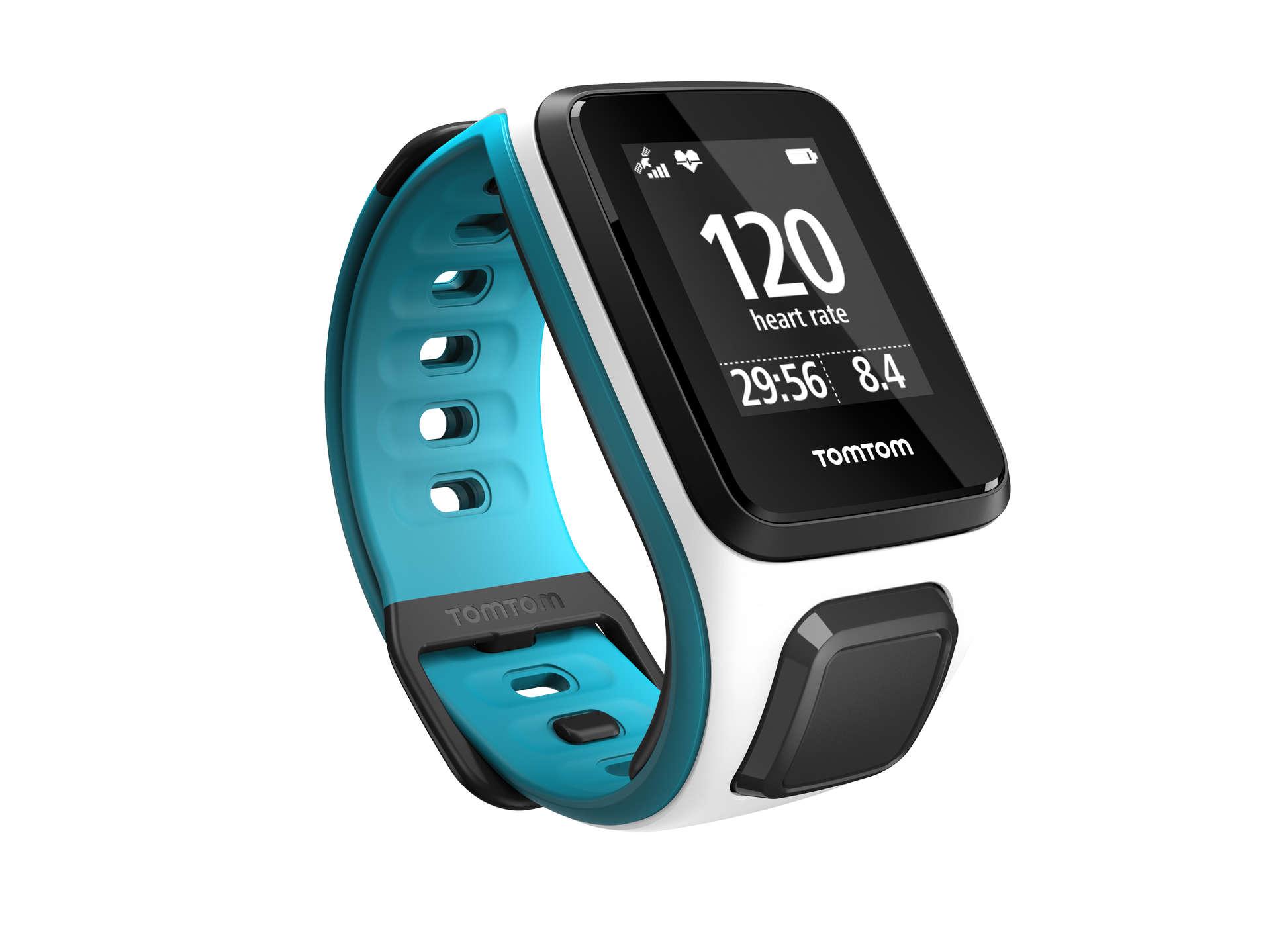 Runner 2 Cardio GPS horloge WitBlauw