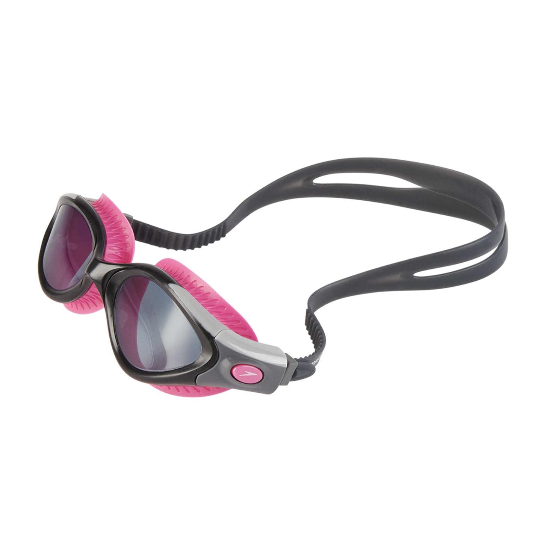 713bfd8d7ae0bb Speedo Futura Biofuse Flexiseal Zwembril Zwart/Roze Dames koop je ...