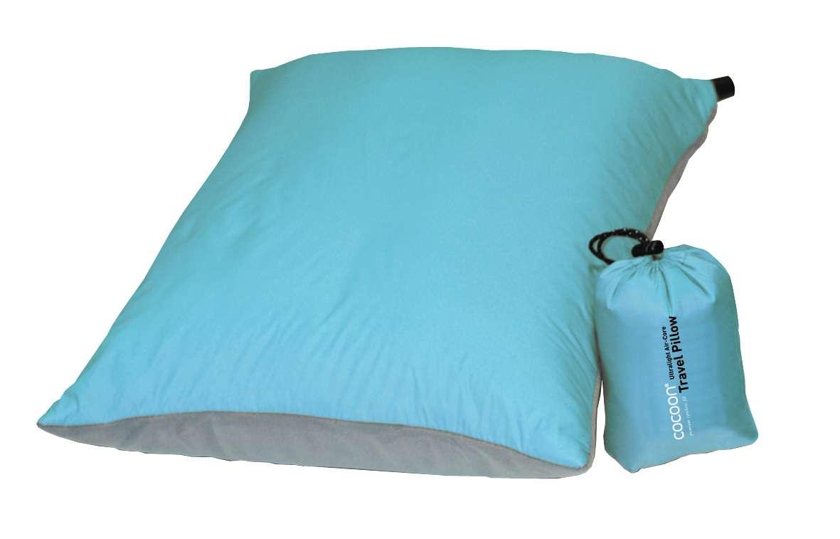Kussens Blauw Grijs : Cocoon air core travel ultralight kussen blauw grijs koop je bij