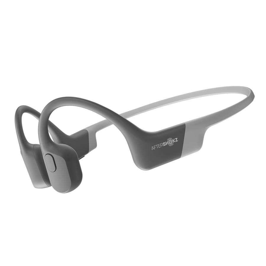 Aftershokz Aeropex Draadloze open-ear bone conduction koptelefoon Grijs