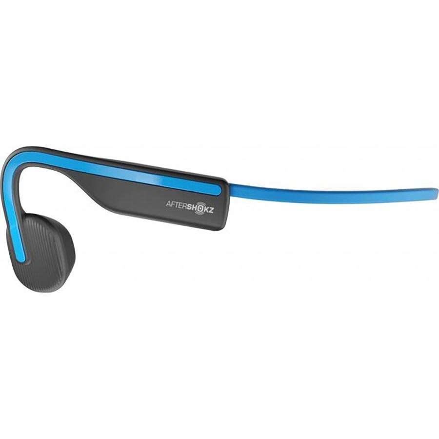 Aftershokz OpenMove Draadloze open-ear bone conduction koptelefoon  Zwart/Blauw