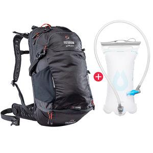 ef9facd9f89 FUTURUM PROFORMANCE Cycling Backpack 18-25L + Drink reservoir Black