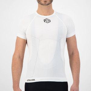 FUTURUM PROFORMANCE Base Layer Xtra Cool RCLD Short Sleeve White