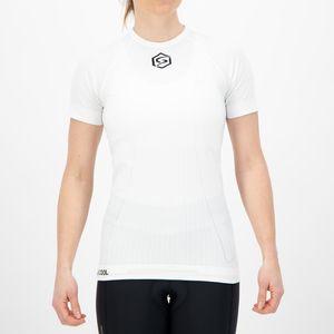 FUTURUM PROFORMANCE Base Layer Xtra Cool RCLD Short Sleeve White W