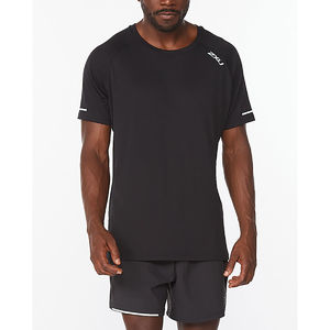 2XU Aero Hardloopshirt Korte Mouwen Zwart Heren