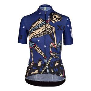 Q36.5 G1 Tarocco Fietsshirt Korte Mouwen Blauw/Multi Dames