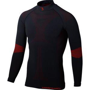 BBB Cycling FIRLayer Thermoshirt Lange Mouwen BUW-20 Zwart/Rood Heren