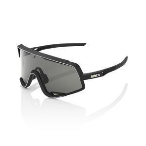 96beff0341538f 100% Glendale Sportbril Soft Tact Zwart Smoke Lens