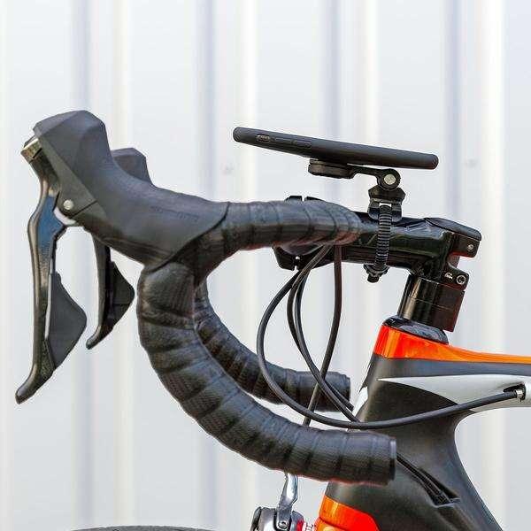 SP Connect Smartphone Bike Bundle II Stuurhouder Set Samsung S10 Zwart