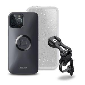 SP Connect Smartphone Bike Bundle II Stuurhouder Set iPhone 12 Pro Max Zwart