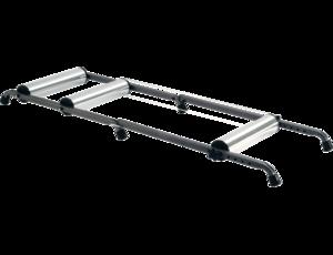Saris Aluminium Rollerbank Zilver