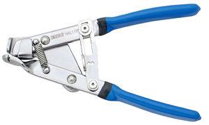 Unior Kabelspanningtang met slot Blauw