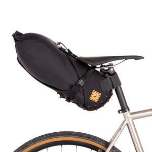 Restrap Saddle Bag Small 8 Liter Zwart/Zwart
