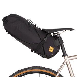 Restrap Saddle Bag Large 14 Liter Zwart/Zwart