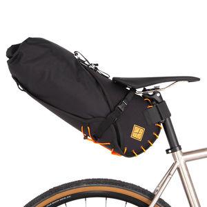 Restrap Saddle Bag Large 14 Liter Oranje/Zwart