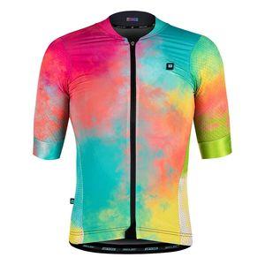 Biehler Technical Fietsshirt Korte Mouwen Multicolor Dames