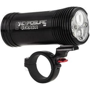 Exposure Lights Strada Mk10 Super Bright Koplamp Zwart