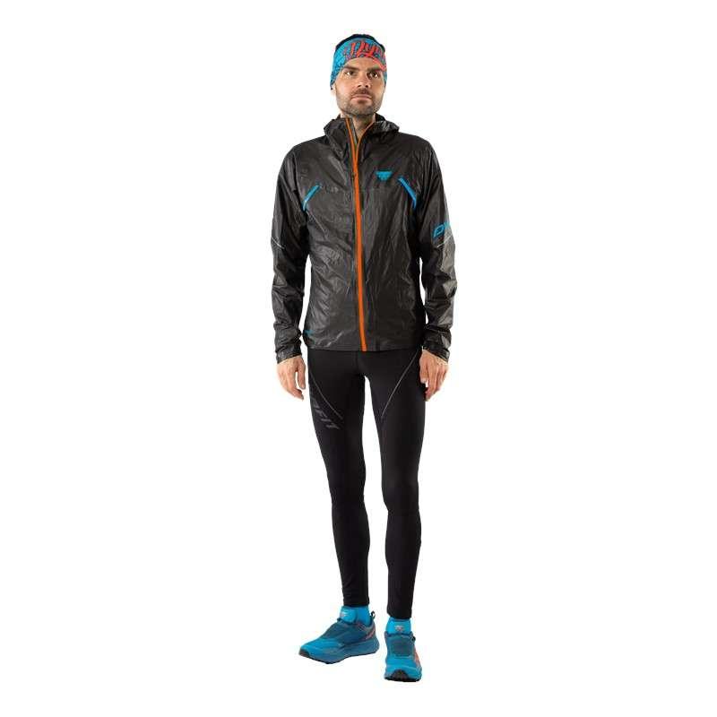 Dynafit Winter Running Trail Hardloopbroek Lang Zwart Heren