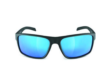 picture Whipstart Zonnebril Mat Zwart/Blue Mirror