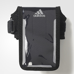 adidas Run Media Armband Zwart/Reflective Unisex