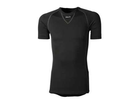 picture Secco Shirt Korte Mouw Zwart Heren