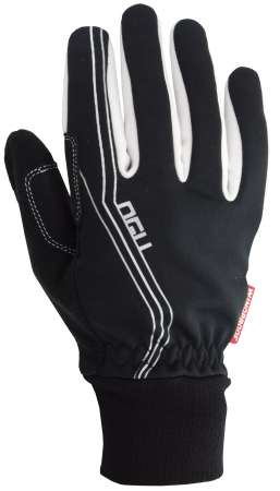 picture Windproof Handschoenen Zwart/Zilver Dames
