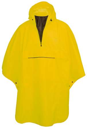 picture Grant Poncho Geel Unisex